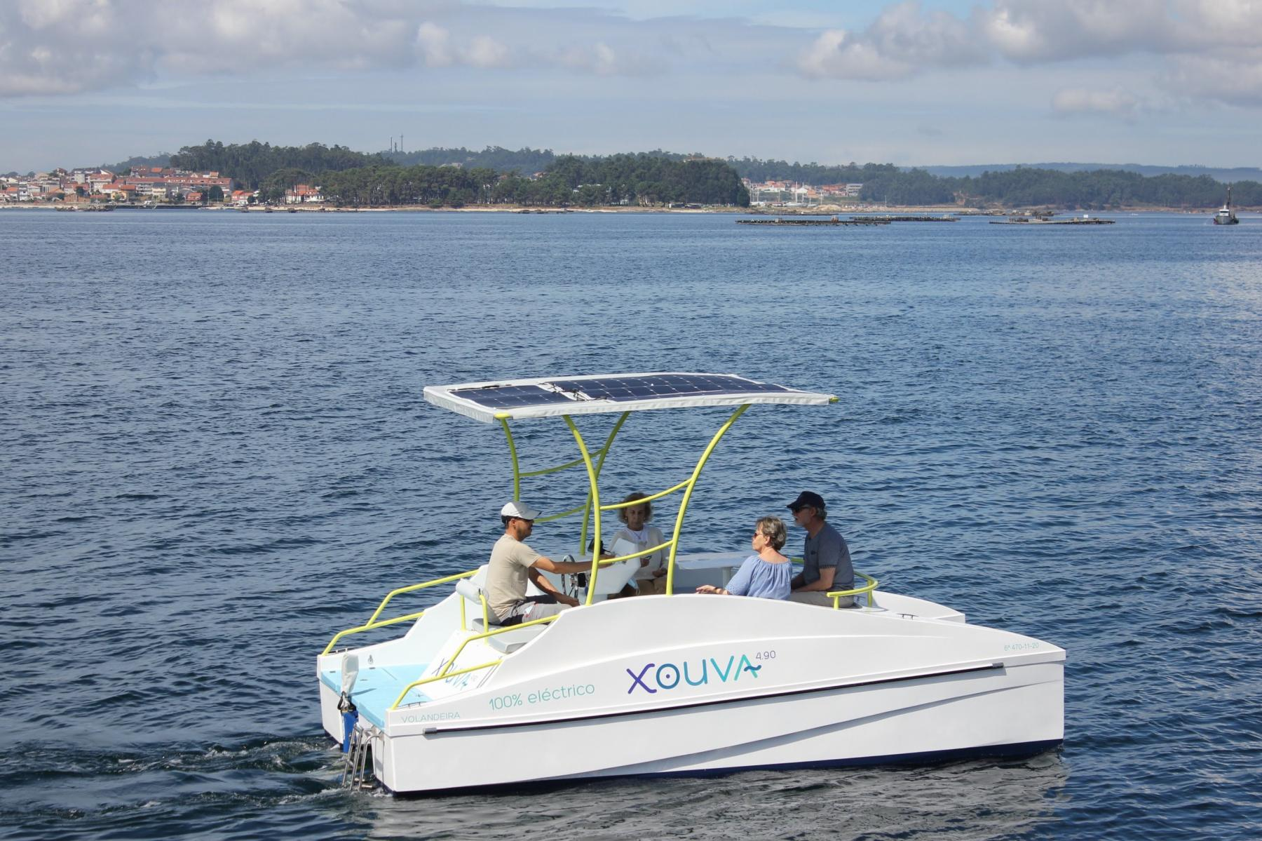 Xouva 4.90 navegando en las Rías Baixas